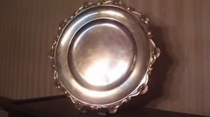 Fuente de plata antigua