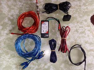 Kit de Cables para Potencia Y Woofer