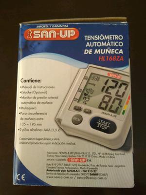 Tensiómetro Automático De Muñeca San Up