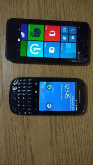 Motorola spice y Nokia lumia
