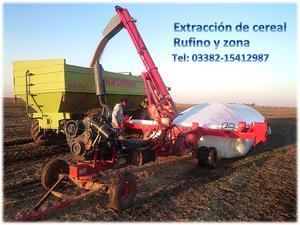Servicio de Embolsado y extracción de Cereal