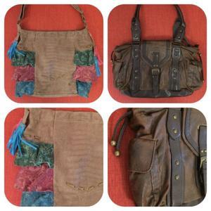 b40a0dbe2 2 carteras mariana gándara volados y chocolate combinada