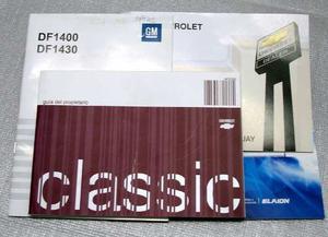 Manual De Usuario Chevrolet Corsa Classic 3p. 4p. Y Rural