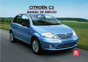 Manual De Usuario De Citroen C3. Envío Gratis