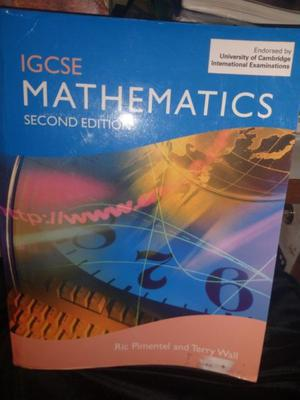 Mathematics Igcse 2nd Edition - Cambridge