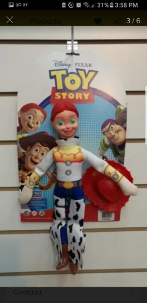 Peluche soft la vaquerita jessie original toy story disney 2ddfa6906ac