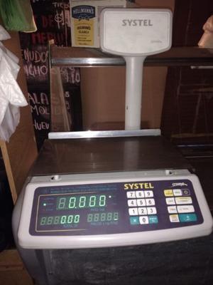 Vendo balanza digital Systel