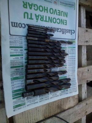Lote 19 Mechas Acero Rápido Metal 5 Hasta 20mm Buenos