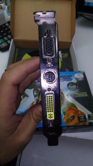 PLACA DE VIDEO XFX NVIDIA GEFORCE  MB DDR2 CON