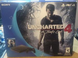 Playstation 4 - slim 500gb - impecable en caja