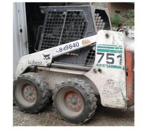 Vendo minicargadora bobcat 751 usada - Córdoba