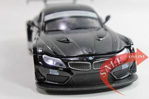 Auto 1/32 Bmw Z4 Gt3 Metal Luz Sonido Fricción Abre Puertas