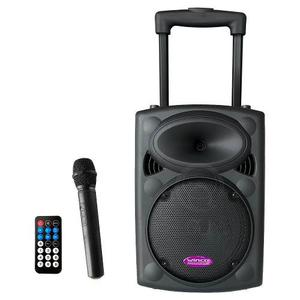 Bafle Recargable Winco W230 Bluetooth 450w Microfono Control