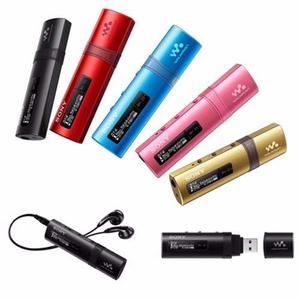 Reproductor Mp3 Sony Nwz-b183f Portatil 4gb Mas Radio Fm