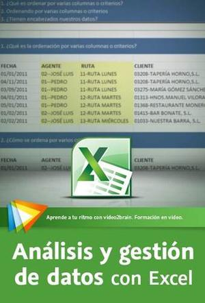Análisis Y Gestión De Datos Con Excel -