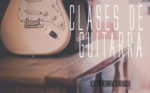 Clases Profesor Guitarra Canto Conservatorio Villa Crespo