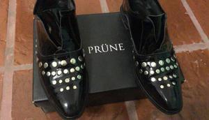 LIQUIDO SOLO HOY - Zapatos prune nº 39 - nuevos - HOY $