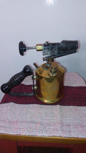 Antigua lampara de soldar