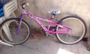 Bicicleta para nena. rodado 24