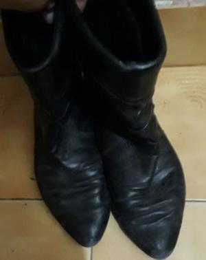 Botas de cuero T37