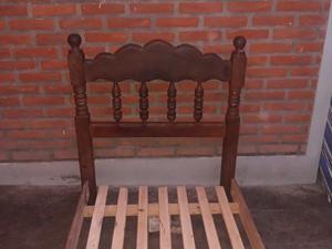 CAMA DE 1 PLAZA ALGARROBO