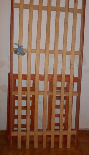 Cama de 1 plaza de madera (1.90x90cm)