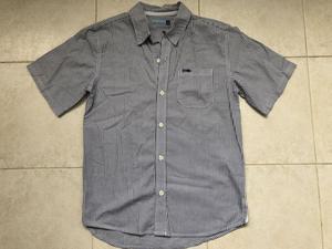 Camisa a rayas celeste mangas cortas talle 12 marca Cheeky.