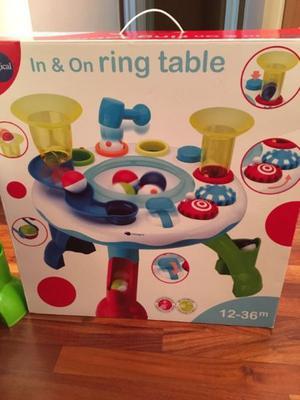 Imaginarium Mesita actividades In & On Ring Table