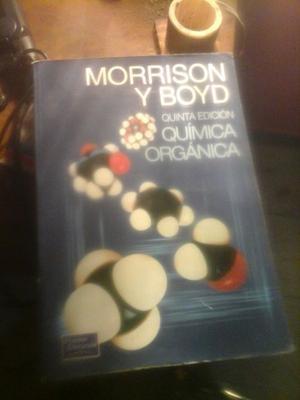 Libro Química Organica. 5ta edición