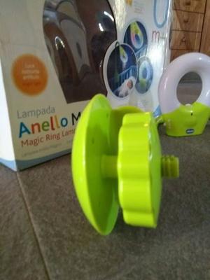 Lámpara para cuna de bebe, chico, anillo mágico