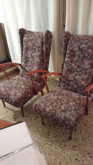 sillones antiguos de estilo