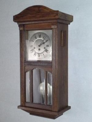 Antiguo Reloj De Pared Carillon Junghans Wurttemberg Funcio
