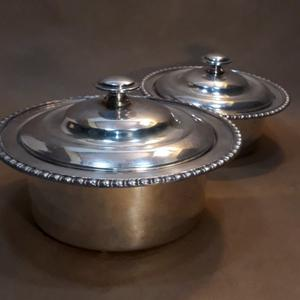 Guisera Y Sopera De Metal Plateado Devon