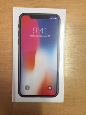 IPhone X 256 g libre de fabrica caja sellada