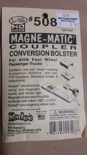Kadee Numero 508 Ganchos Magneticos Bolsa Con 2 Unidades