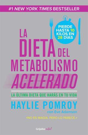 """Libro """"La dieta del metabolismo acelerado"""""""