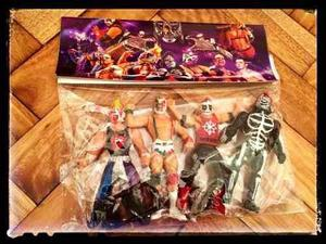Muñecos De Lucha Mexicana Originales Y Coleccionables.