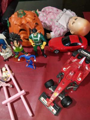 Muñecos y juguetes de colección