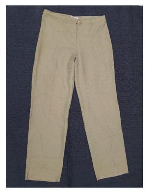 Pantalon de lino. Ruben Cassin. Talle 50. Mujer. Color