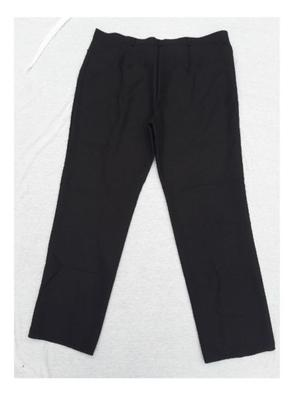 Pantalon de vestir negro. Invierno. Talle 52. mujer.
