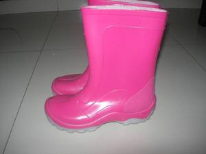 botas de lluvia nena n 32 impecables casi sin uso