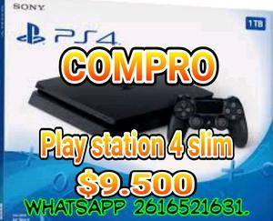 Compro play 4 slim en buen estado
