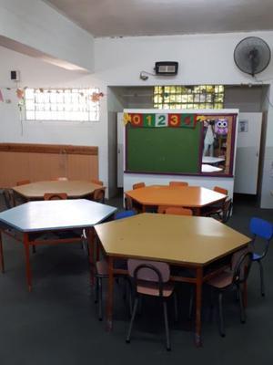 Mesas y sillas para nivel inicial
