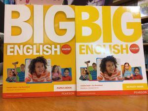 Big English Starter - Pupils Book & Activity Book - Pearson