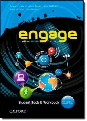 Engage Starter Student Book & Workbook - Oxford 2nd Edition