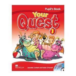 Your Quest 1 - Pupil S Book + Activity Book - Macmillan