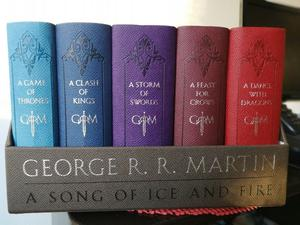 George R. Martin Juego De Tronos Song Of Ice & Fire De Cuero