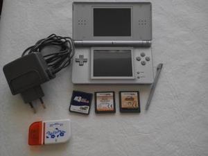 Nintendo Ds Lite Con Todos Los Juegos