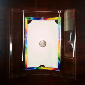 Porta retrato de mesa de vidrio