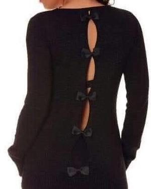 Sweaters y vestidos
